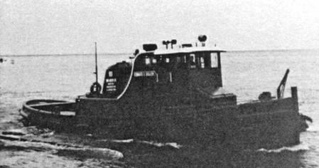 Edward E Gillen Tug Boat
